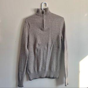 Black Brown 1826 Zipper Sweater